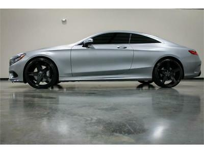 2015 Mercedes-Benz S-Class COUPE 4MATIC AMG SPORT 2015 MERCEDES BENZ S550 S 550 COUPE 4MATIC SUPER RARE COLOR COMBO NEW 22 WHEELS!