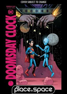 Doomsday Clock #8B - Gray Frank Variant (Wk49)