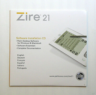Palm Zire 21 Installation Cd