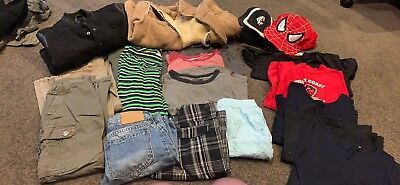 Boys Size 8 Bundle Pick Up Only Bulk Lot Great Condition Summer & Winter