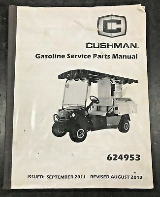 CUSHMAN 1992 2014 3 4 Wheel FACTORY SERVICE REPAIR SHOP
