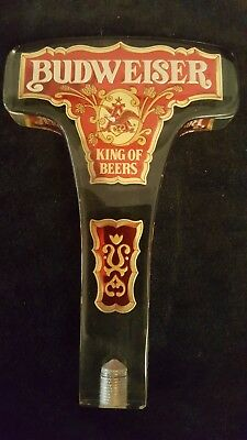 Vintage New Budweiser King of Beers Beer Tap Handle NOS - Made by Dorette, Inc.