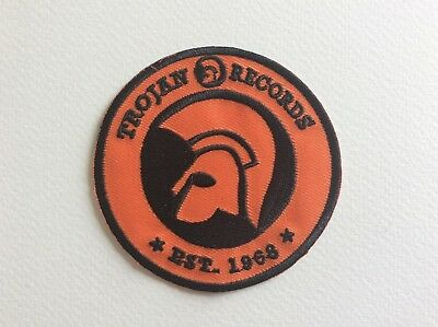 A155 Patch Ecusson Trojan Records 7,5 Cm