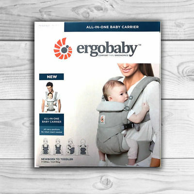 NEW! ERGOBABY 360 OMNI COTTON ERGO BABY Carrier Adjustable Sling Wrap. 8 COLORS