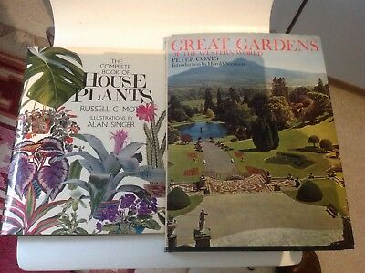 5 x AMAZING LARGE VINTAGE COLLECTABLE BOOKS ON GREAT HOUSES & GREAT GARDENS