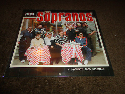 Calendar 2003-The Sopranos New