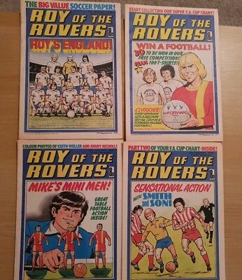 Roy of the Rovers Comics - January 1978