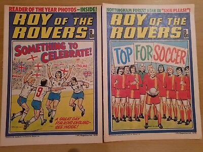 Roy of the Rovers Comics - February 1978