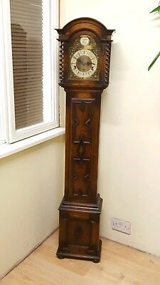 Beautiful Westminster Whittington Musical Longcase Grandmother Clock
