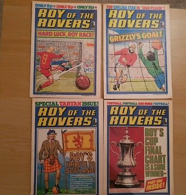 Roy of the Rovers Comics - April 1978