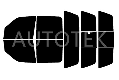 PreCut All Sides Windows Film Any Tint Shade % for Ford F150 Crew Cab 2001-2003