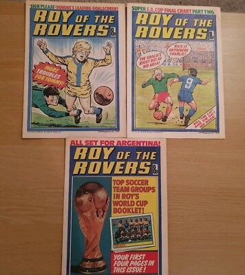Roy of the Rovers Comics - May 1978