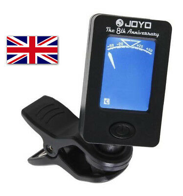 JOYO JT-01 Clip-on LED Guitar Tuner. Modes: Chromatic, Guitar, Bass, Ukulele