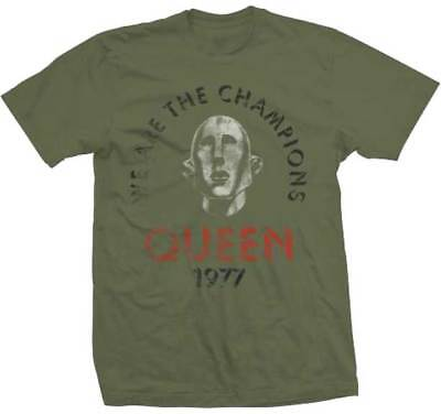 Queen We Are The Champions News of the World Album Classic Rock T Shirt 32771212