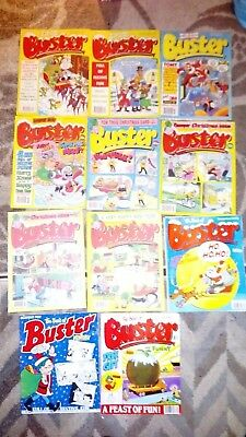 Buster comic's Christmas Issues