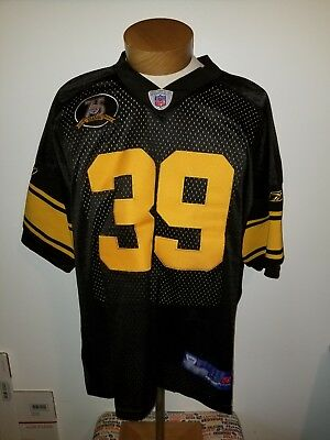 sports shoes 6879e 6e9d1 HINES WARD #86 STEELERS 75th ANNIVERSARY THROWBACK FOOTBALL ...