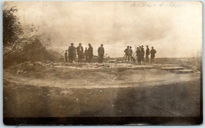 Gays Mills, Wisconsin RPPC Real Photo Postcard Disaster Scene w/ 1915 Cancel