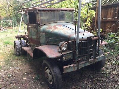 1941 Dodge Power Wagon  1941 Dodge WC Ex-Military Well-Puller Rig Runs!