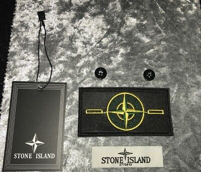Stone Island Replacement Badge and Tags