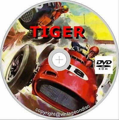 Tiger Comics On DVD rom 250+ Issues & Annuals and Specials