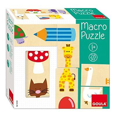 ToyCentre Goula 53328 Macro Puzzle 28 Pieces