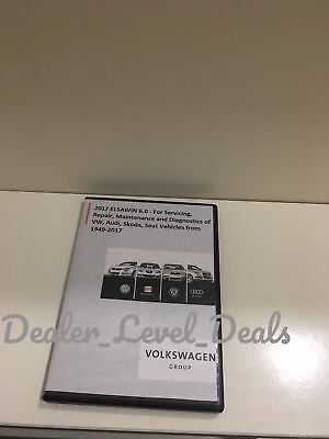 ELSAWIN6.0 2018 Workshop Service Repair Manual FOR VW SKODA AUDI SEAT VEHICLES