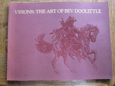 Visions: the Art of Bev Doolittle (Paperback, 1989) Judith  Hohl Text