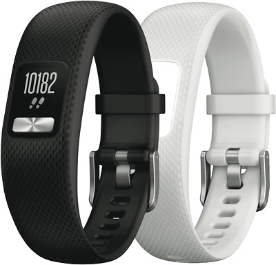 NEW Garmin 010-01847-04 Vivofit 4 Black/White Club Bundle