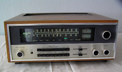 McIntosh MAC 1900 Stereo Receiver Professionally Serviced, with Wooden Case