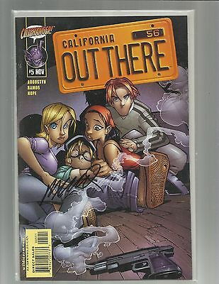 Out There 5 Signed By Humberto Ramos Cliffhanger Wildstorm Dc Comics