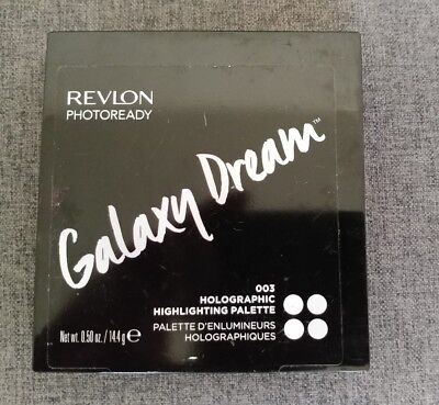 Revlon Photoready Galaxy Dream 003 Holographic Highlighting Palette New Sealed