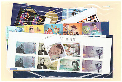 US $40.00 FACE MINT / NH POSTAGE LOT OF 50¢  Forever STAMPS