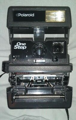Polaroid One Step Close Up 600 Instant Camera FILM Tested w/ owners manual