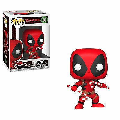 Funko Pop Marvel Holiday - Deadpool with Candy Canes Vinyl Figure