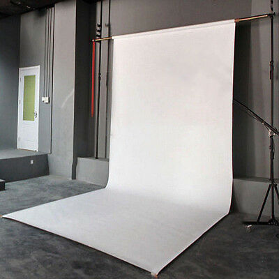 WHITE Thin Vinyl Photography Backdrop Background Studio Photo Prop 3 x 5ft Dia