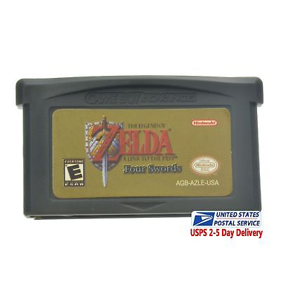 The Legend of Zelda a Link to the past Four Swords Nintendo GBA Game Boy Advance