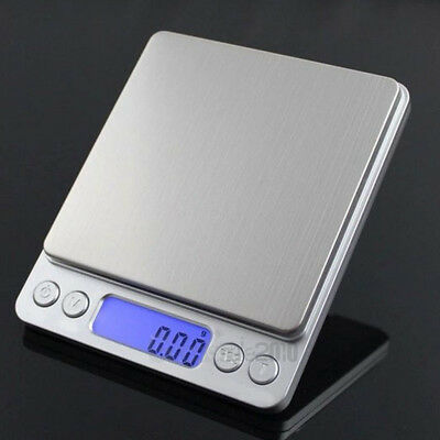 500g x 0.01g Digital Precision Jewelry Scale ACCT-500 Counting Scale with Trays