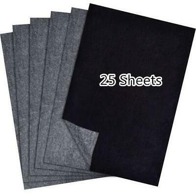 25Pcs Carbon Transfer Paper For Wood Paper Canvas Tracing Paper Copy 23*33cm