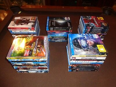 Movies * All Blu Ray + DVD Combo Pack with Slipcover, Sleeves * Great Titles *