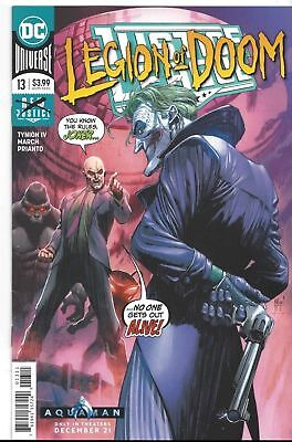 Justice League #13 First Print DC 2018 NM COVER A