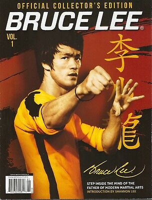 BRUCE LEE OFFICIAL COLLECTOR'S EDITION MAGAZINE #1-Enter the Dragon-Jeet Kune Do