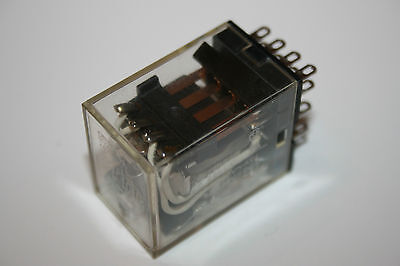 Omron MY4N-D2 24VDC Relay / green LED / 14 pin / 240VAC/28VDC/5A Contact Rating