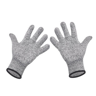 1 Pair Cut Resistant Glove Safety Proof Stab Stainless Steel Metal Mesh Butcher