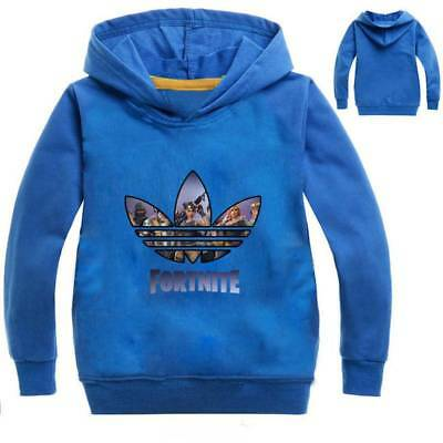 Fortnite Hoodie Kapuzenjacke  Sweatshirt T-shirt Kinder PS4 Xbox Playstation
