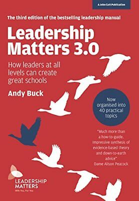 Leadership Matters 3.0 by Andy Buck New Paperback / softback Book