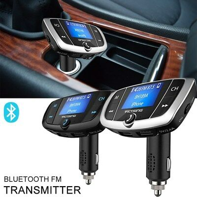 c11437afbcc180 Bluetooth Car Kit USB Charger MP3 Player FM Transmitter Wireless Radio  Adapter