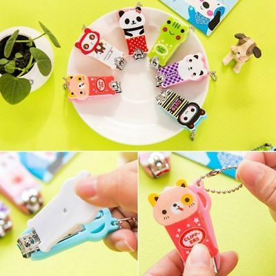 Cartoon Animal Manicure Set Nail Care Clipper Tool Scissors Funny  Style Item