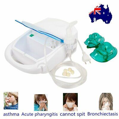 Heavy Duty Portable Compressor Nebulizer Hosipital Medicine Inhaler Kids Adults