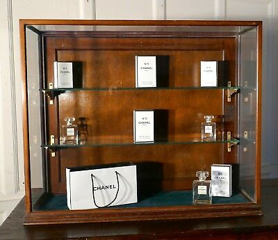 Victorian Counter Top Collectables Shop Display Cabinet