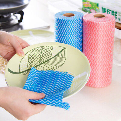 1 Roll Multipurpose Hygienic Cleaning Cloths Large Kitchen J Type Cloth Catering